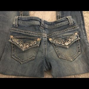 Paisley Sky Bootcut Jeans